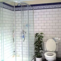 Shower rooms and bathrooms beautified with long lasting high quality by AJ Tiling